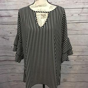 A56- NWT Caren Sport blouse 3x